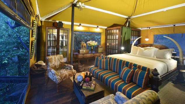 tented camps asia Shinta Mani Wild - Bensley Collection
