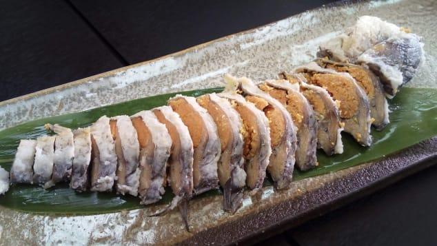 Funazushi ancient sushi japan