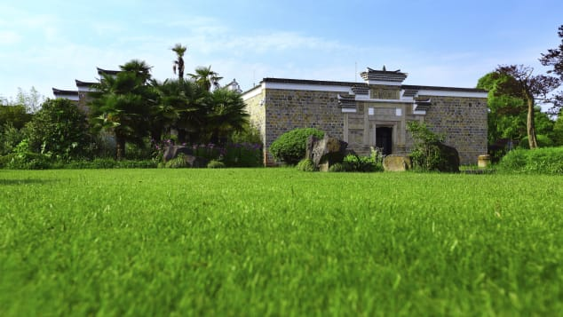 The antique villas at Amanyangyun were all relocated 435 miles from Jiangxi to Shanghai.