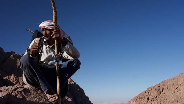 Jebeleya guide Nasser Mansour