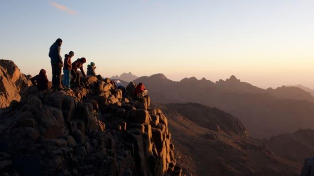 Sunset on Mount Katherine (Jebel Katerina)