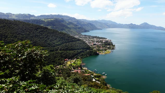 Photographer Paider says trial and error is the key to packing light. Pictured here: Lake Atitlán, Guatemala.