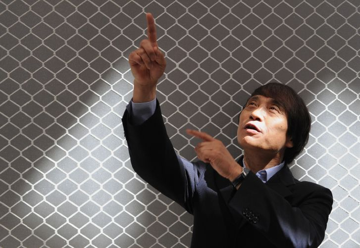 Japanese architect Tadao Ando.