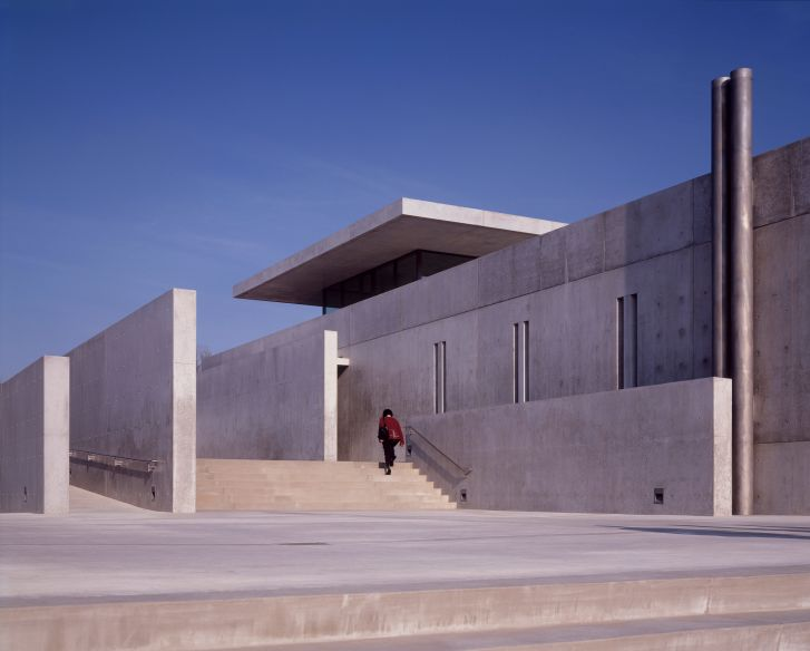 The Pulitzer Foundation for the Arts, in St Louis, United States -- a classic Tadao Ando building.