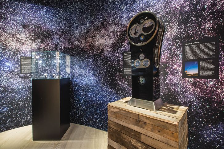 """This year's Salon QP fair features the exhibition """"Astronomy: Time & Space,"""" which considers horologists' longstanding interest in astrology."""