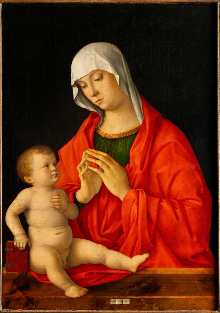 """Madonna and Child"" (between 1480 and 1485) by Giovanni Bellini"