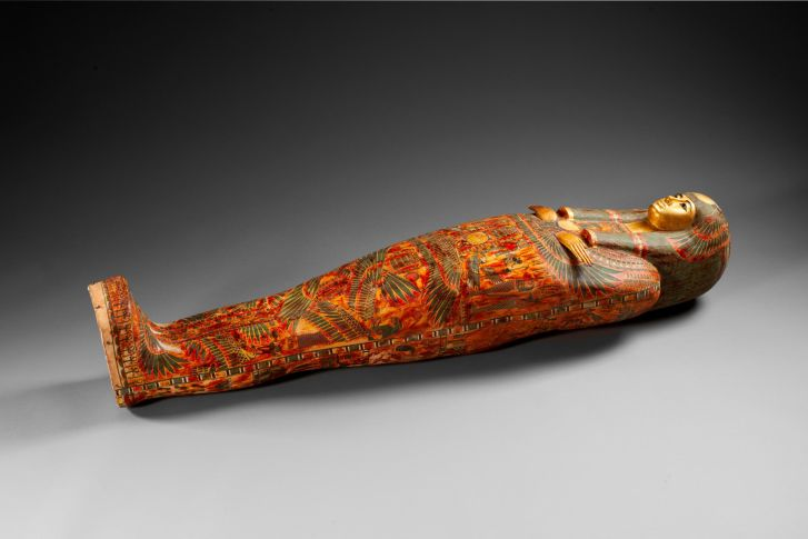 Funeral set of princess Henuttawy, cartonnage Egypt (2nd half of 10th century BCE-beginning of the 22th dynasty