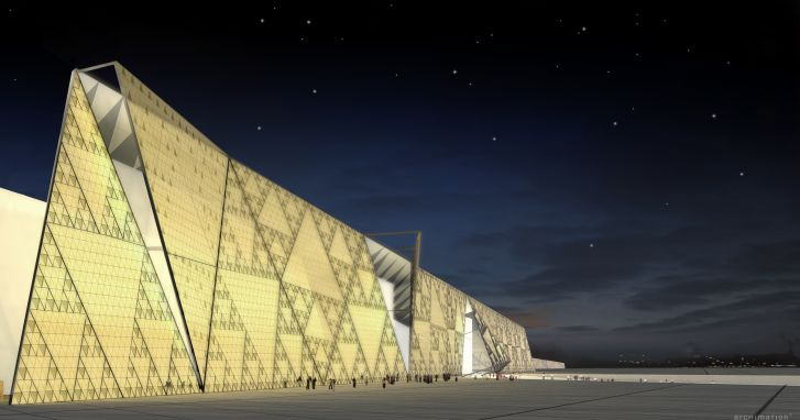 Grand Egyptian Museum in Giza.