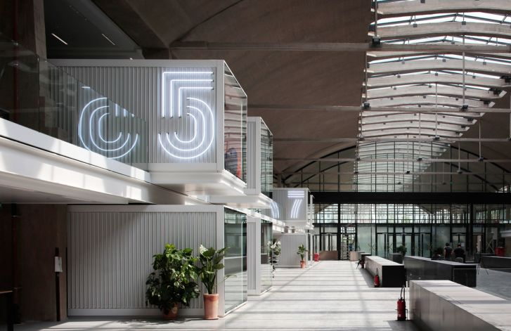 The Station F startup campus in Paris