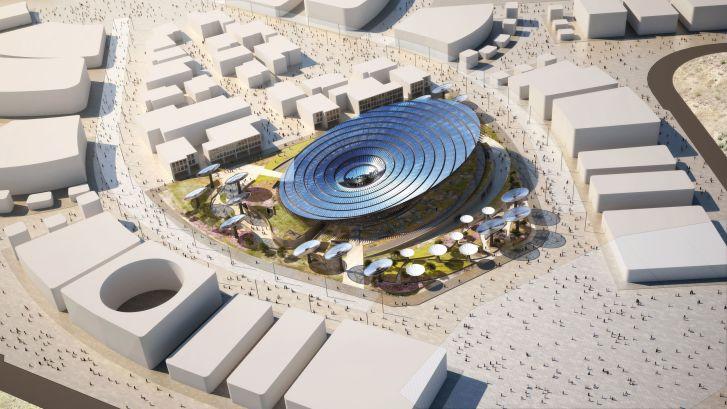 Grimshaw Architects designed Sustainability Pavilion for Dubai Expo 2020.