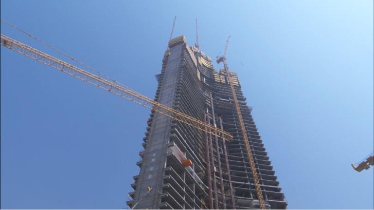 Jeddah tower bottom