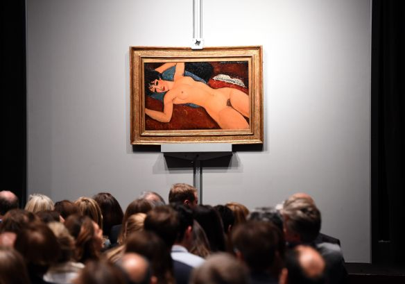 Amedeo Modigliani's 'Nu couche'