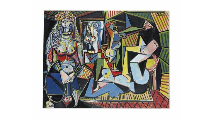 Pablo Picasso Les femmes d'Alger