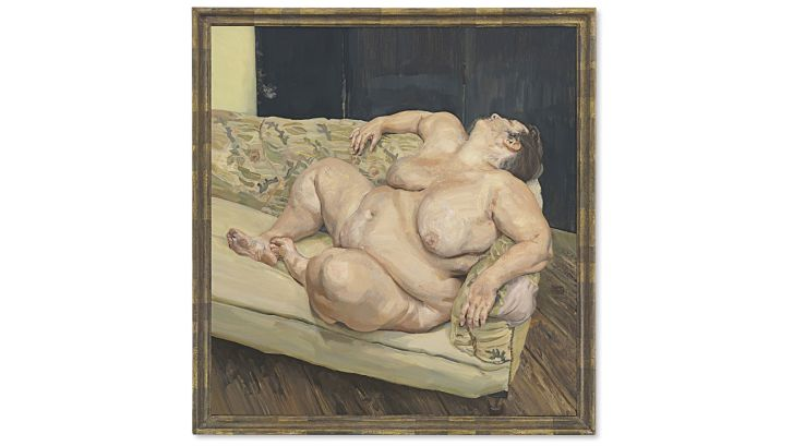 Lucian Freud Benefits Supervisor Resting