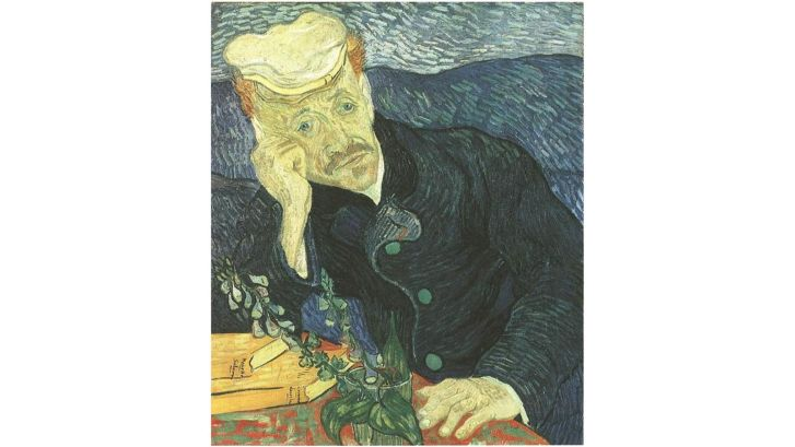 Vincent van Gogh, Portrait of Dr. Gachet (1890) oil on canvas -- Price Realized: $82,500,000