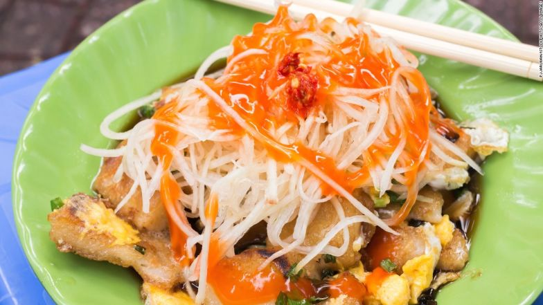 Bot Chien is Vietnamese street food at its best.