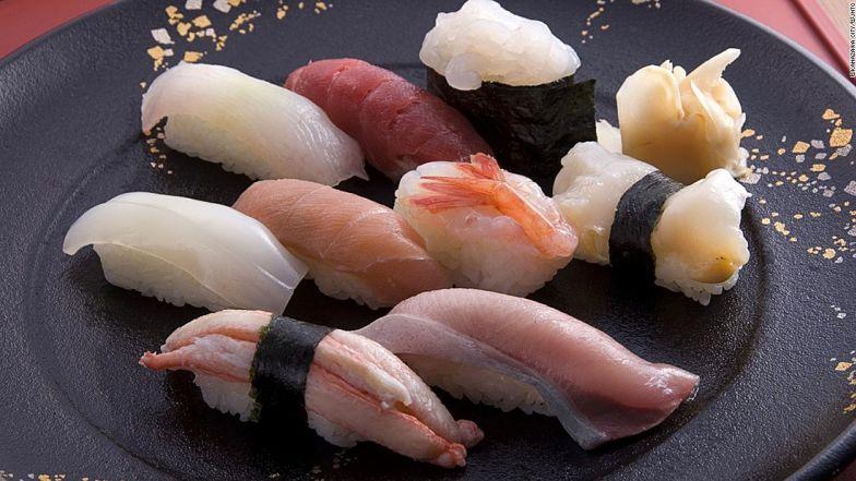 Japan food1 Ishikawa sushi ©Kanazawa City:©JNTO