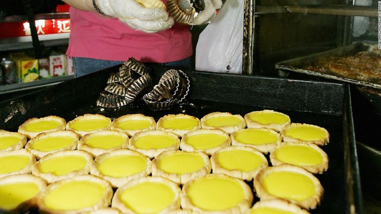 Tai Cheong bakery skyrocketed to fame after former British governor Chris Patten confessed he's a fan.