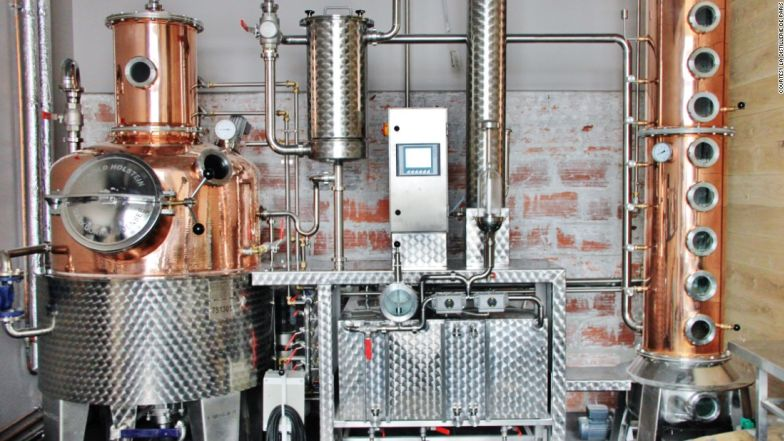Since 2015, La Distillerie de Paris has been turning out craft spirits.