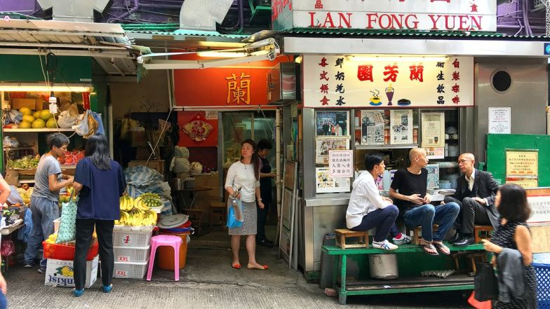 HK Central Mid Levels Escalator Lan Fong Suen
