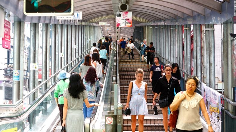 HK Central Mid Levels Escalator