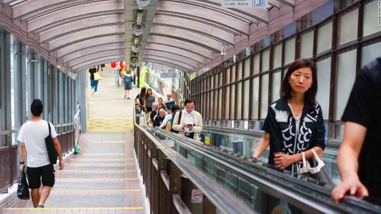 HK Central Mid Levels Escalator2