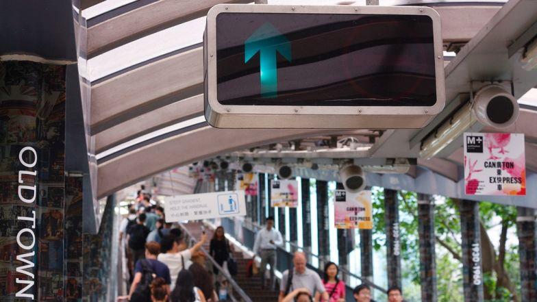 HK Central Mid Levels Escalator4