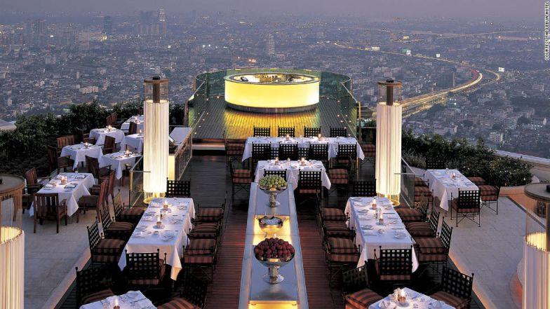 Bangkok restaurant - Sirocco at Lebua Hotel