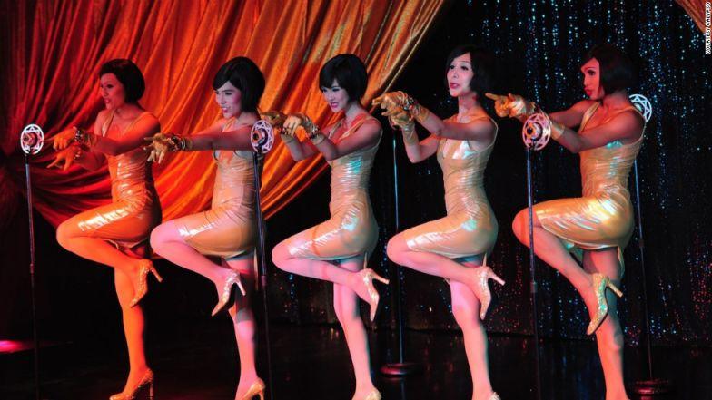 Ladyboy cabaret.