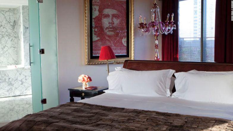 Fancy suites at Faena Hotel.