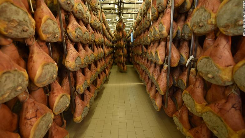 Parma ham, the most multi-faceted of treats.