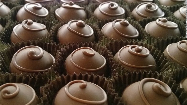Chocolate -- the world's guilty pleasure.
