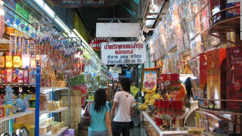 Chatuchak Weekend Market is a must-visit for shopaholics.