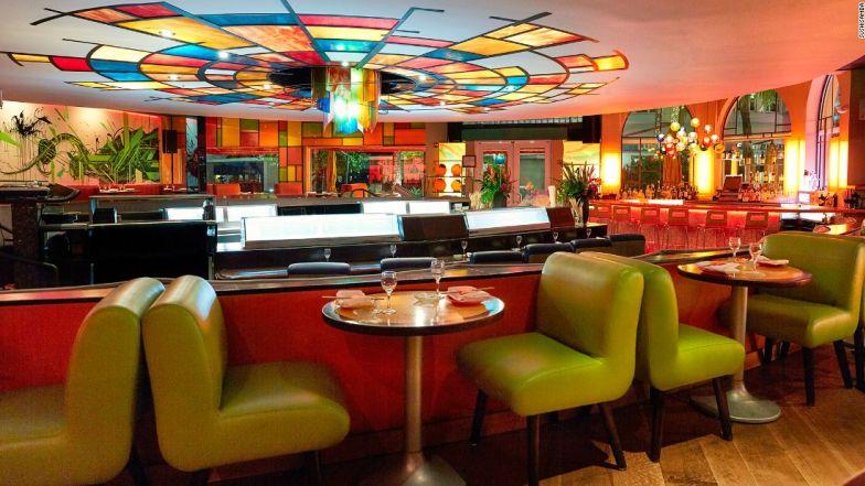 NYC restaurants in Miami sushi samba interior