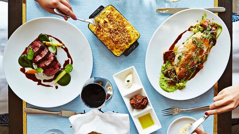 NYC restaurants in Miami Scarpetta table