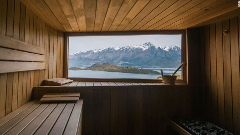 Best saunas view Aro Ha