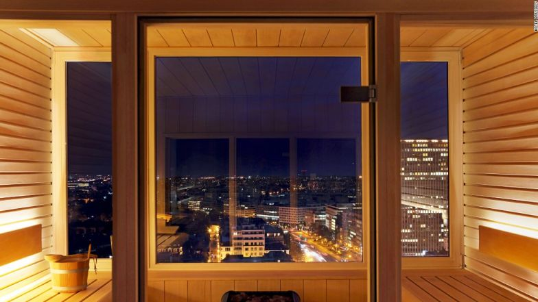 Best saunas view Hotel Brussels