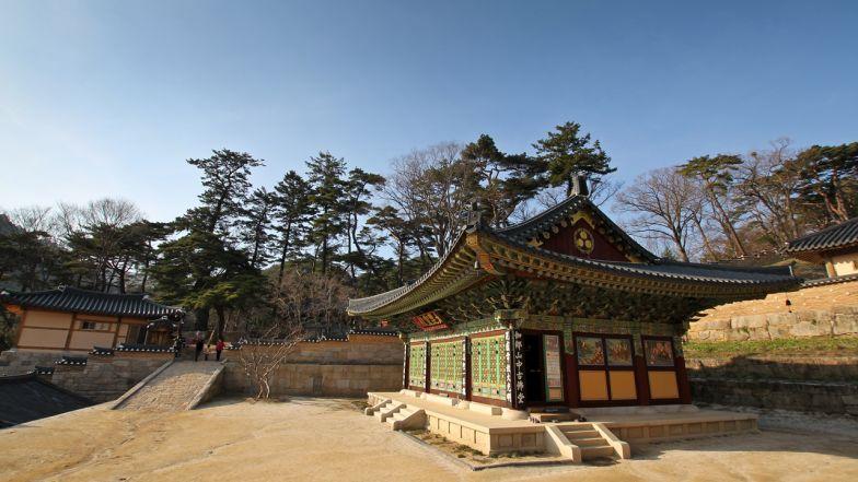 Haeinsa has been home to the Tripitaka Koreana since 1398.